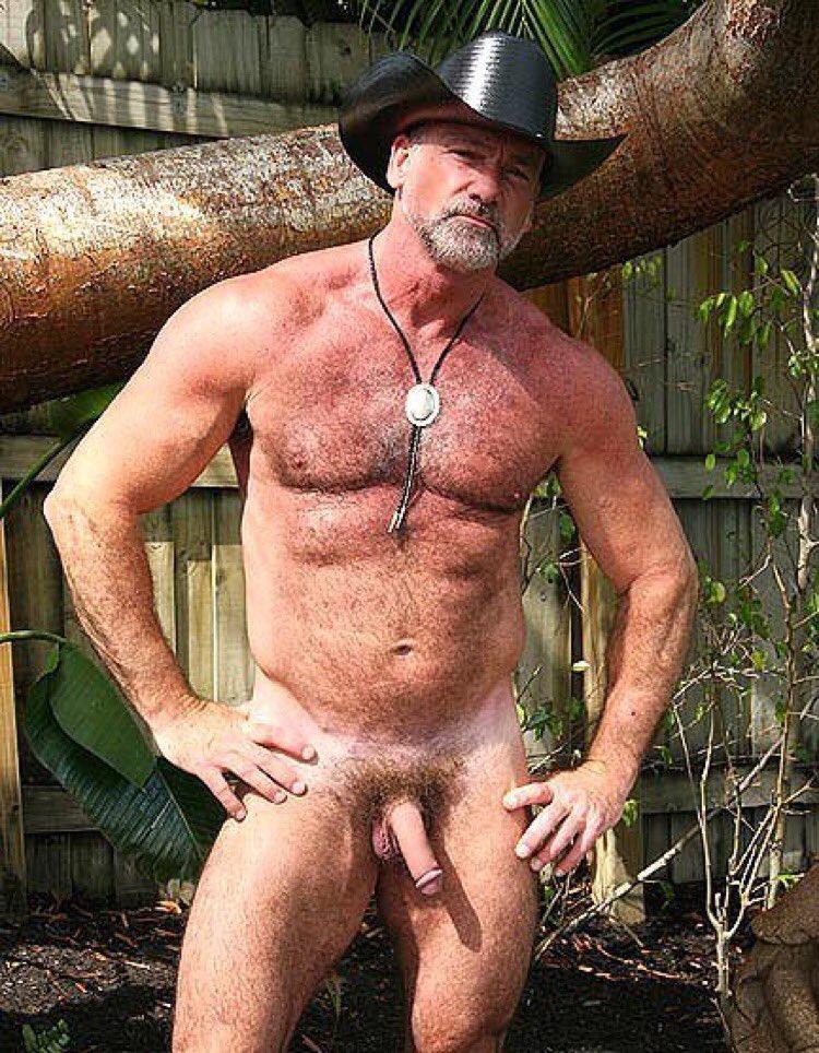 Hairy cowboy nude — photo 6