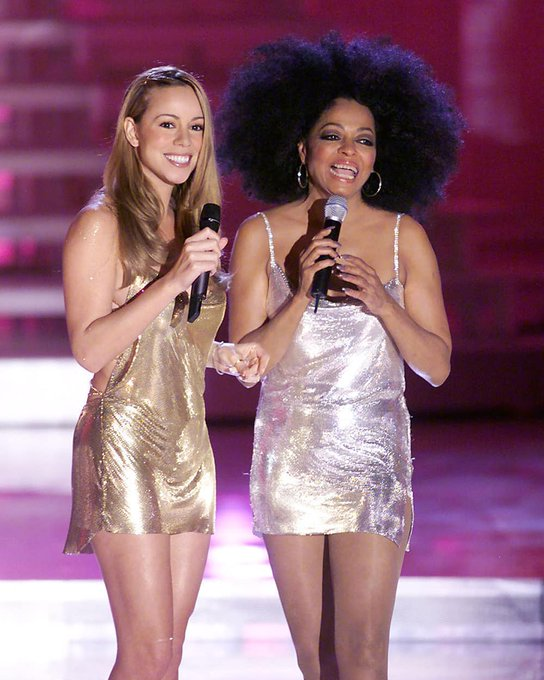 Mariah Carey Happy birthday to the fabulous Miss Ross! Much love always!!