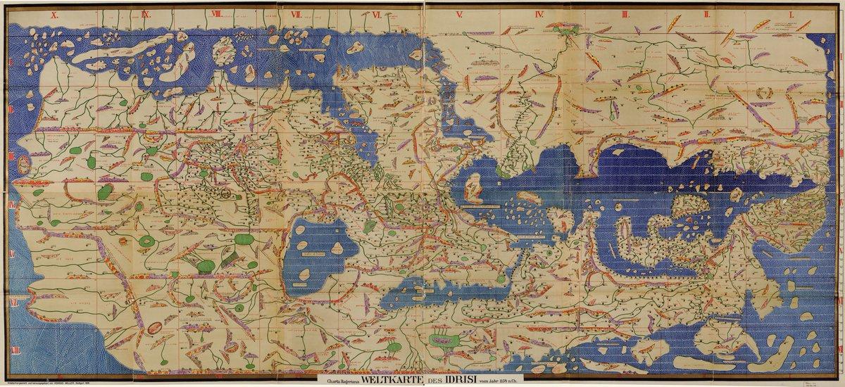 Dr Caitlin Green On Twitter Al Idrisi S Full 12th Century World