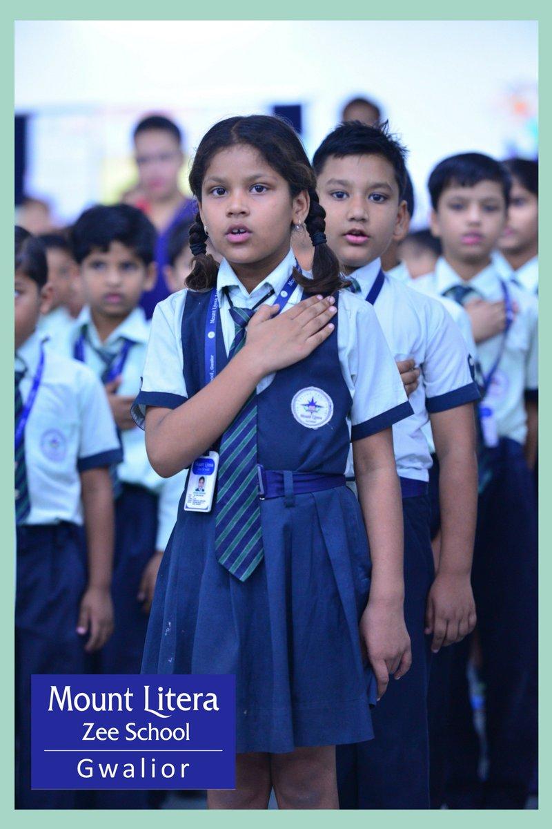 Mount Litera Zee School Gwalior At Literamount Twitter