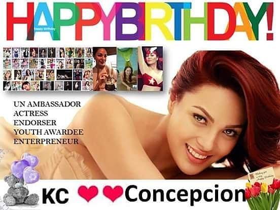 Happy Birthday kc concepcion...