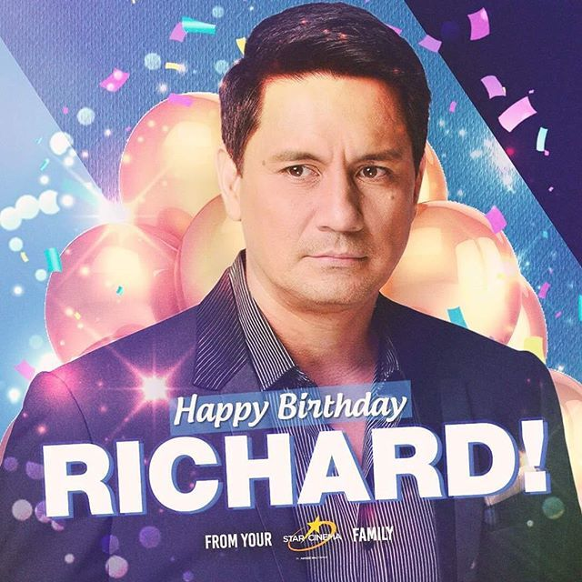 To the one and only Richard Gomez, happy birthday! Have a wonderful day ahead!