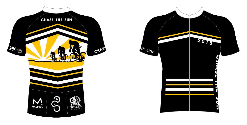 Now available to order - limited edition Chase the Sun endurance cycle  jerseypic.twitter.com UIhKCik3Et 927ee0370