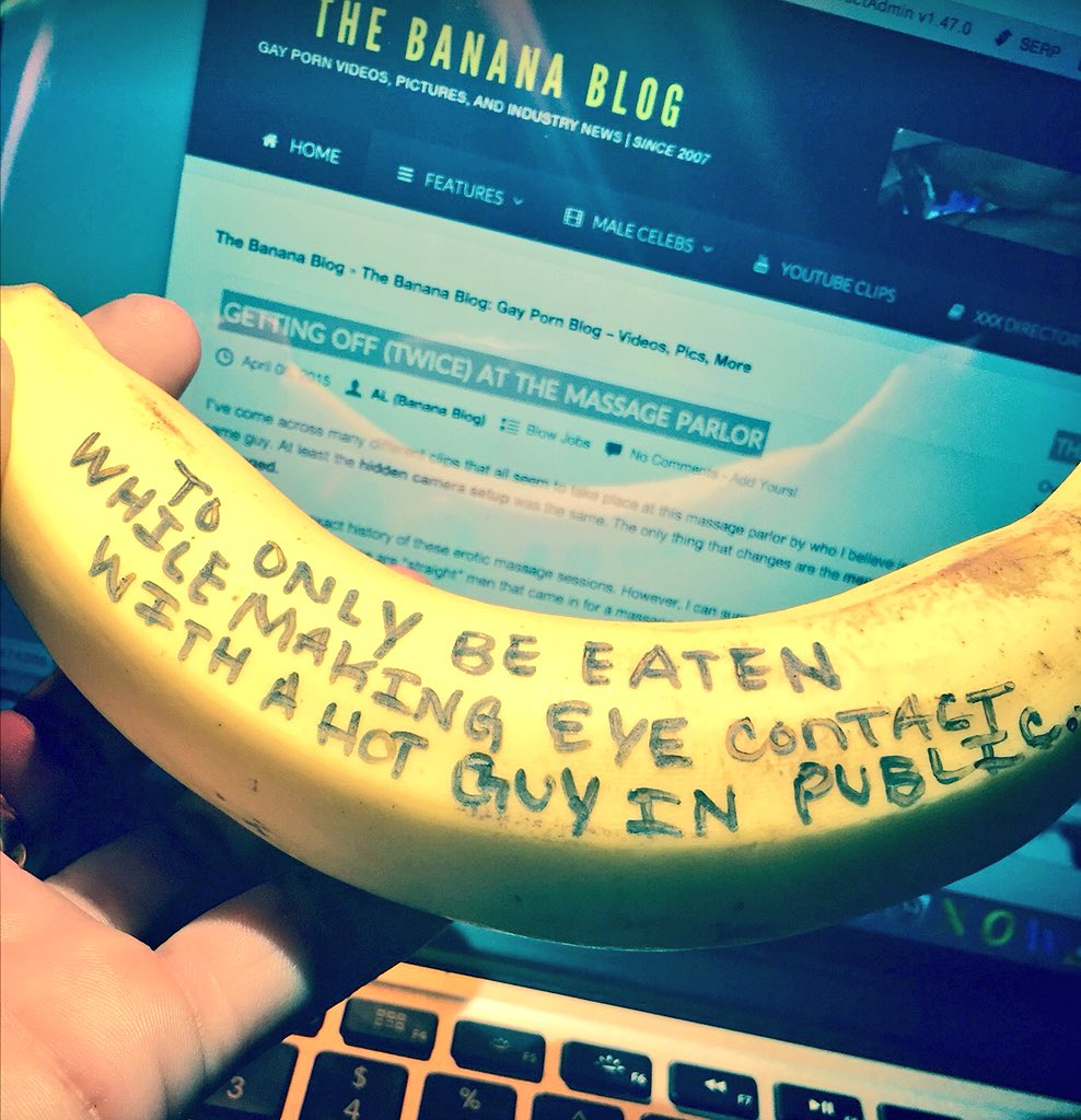 The banana blog