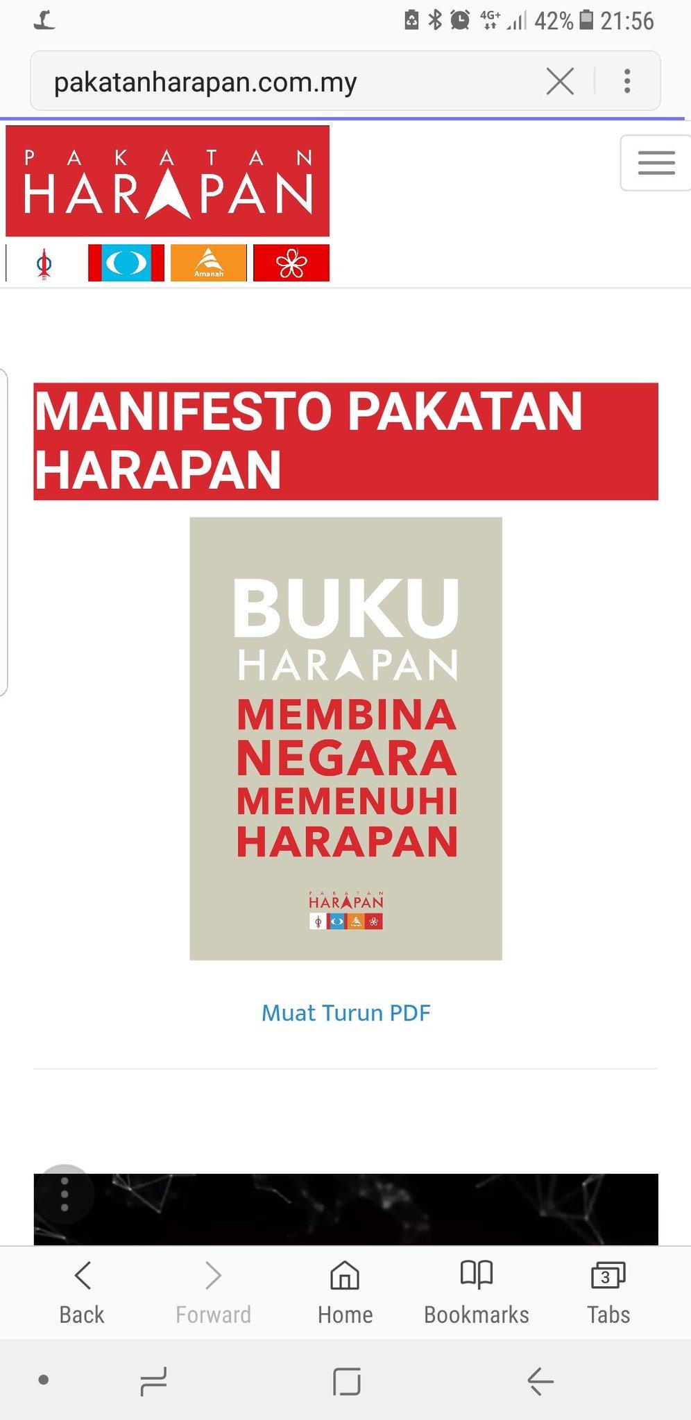 Uzivatel Drsazone Na Twitteru Dah Dengar Manifesto Barisan Nasional Ni Boleh Baca Juga Manifesto Pakatan Harapan Ada Online Baca Banding Fikir Pilih Dan Pangkah Malaysiamemilih Pru14 Https T Co 1u1gfjdacp