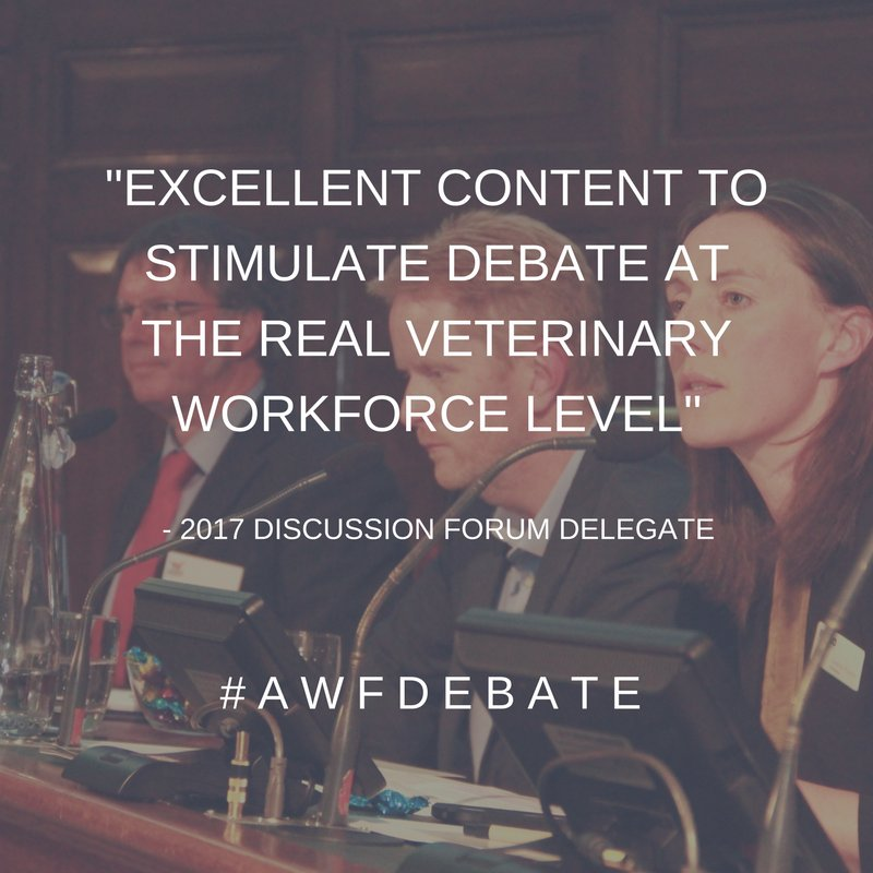 How can pre-purchase clinics improve both pet welfare and business? Find out more at this year's Discussion Forum as we welcome @SeanWensley  and Stephanie Writer-Davies  @SPVSvets #AWFDebate  http:// ow.ly/c5EA30jm67x  &nbsp;  <br>http://pic.twitter.com/JQEDf6l7iK