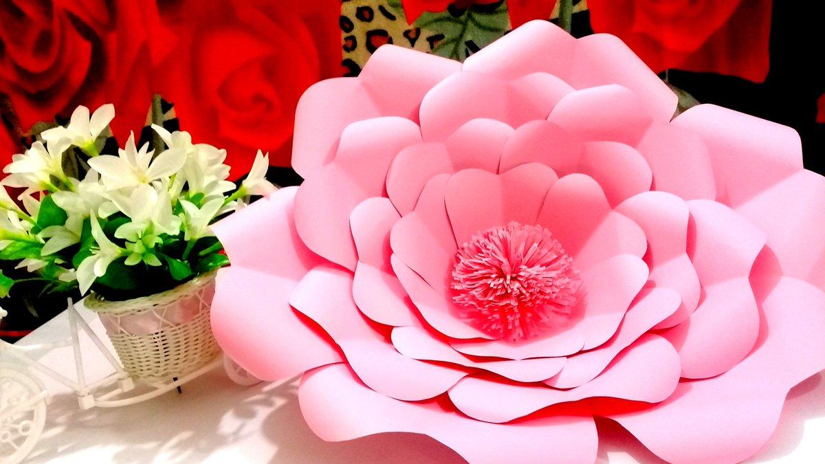Brainycraft On Twitter Diy Giant Paper Flowers Tutorial