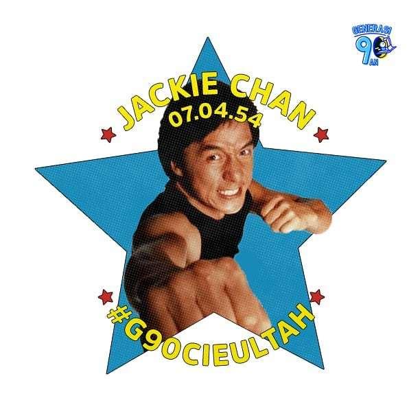 Happy birthday Jackie Chan! Semoga bisa terus beraksi walau umur sudah tidak muda lagi.
