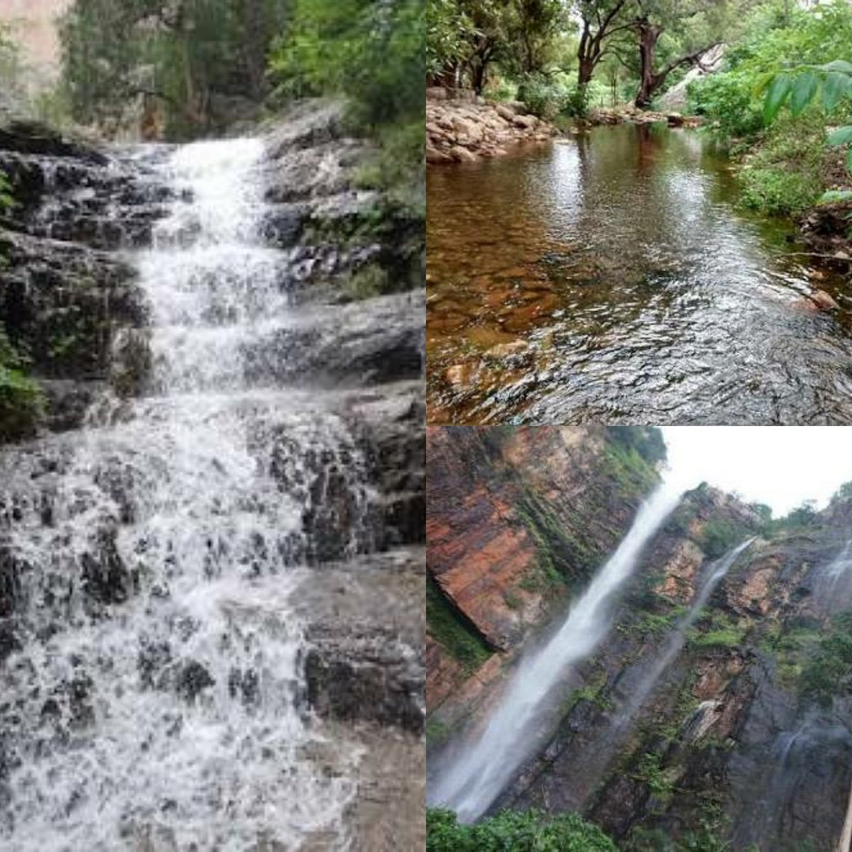 Tada Falls also Known as Ubbalamdugu Falls located in Chittoor district of Andhra  da Falls  Top Unexplored Travel Places in India