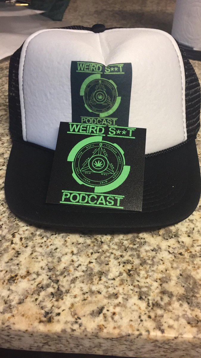 Hats and Stickers  https   www.cafepress.com weirdshitpodcast … Shirts and  Hoodies  https   weirdshitpodcast.threadless.com pic.twitter.com fqBOc0JodX db58e9a0660d