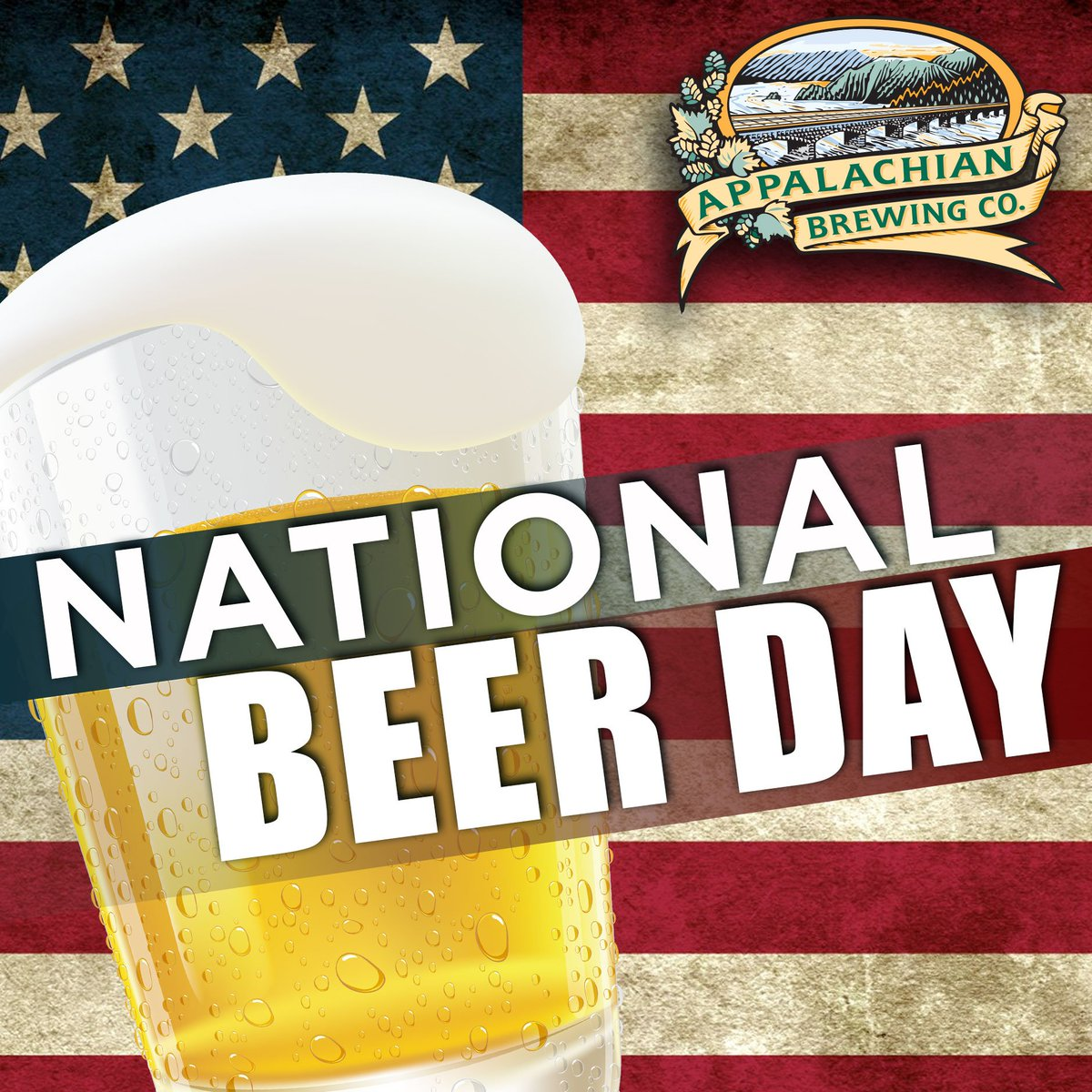 Appalachian Brewing On Twitter Happy National Beer Day Who S Celebrating With Us Nationalbeerday Abcbrew