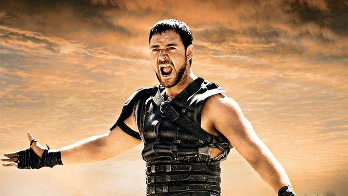 Happy bday ¿Lo recuerdas en \Gladiador\?