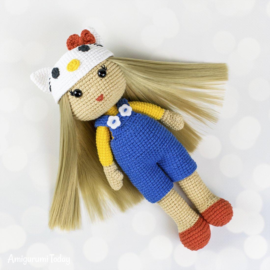 Amigurumi rabbit baby rattle - Amigurumi Today - Amigurumi Crochet ... | 1100x1100