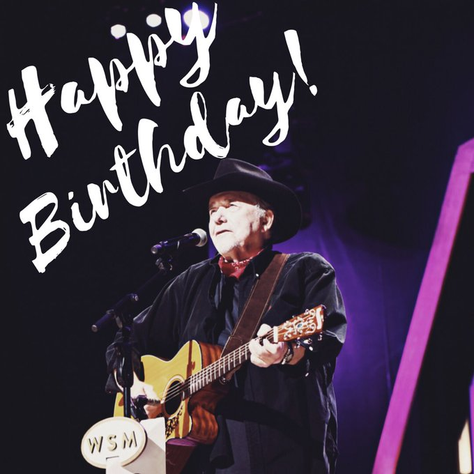 Happy 83rd Birthday Bobby Bare! See you tonight at the Opry! - Your Team .