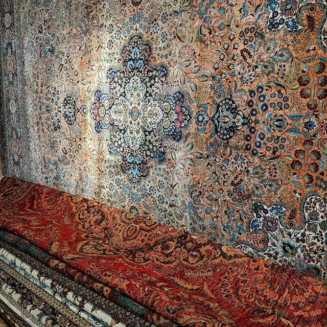 Blue Paisley On Twitter Stacks Of Silk Persian Rugs We Are Still Taking In The Shine And Detail Bluepaisley Handmade Rug
