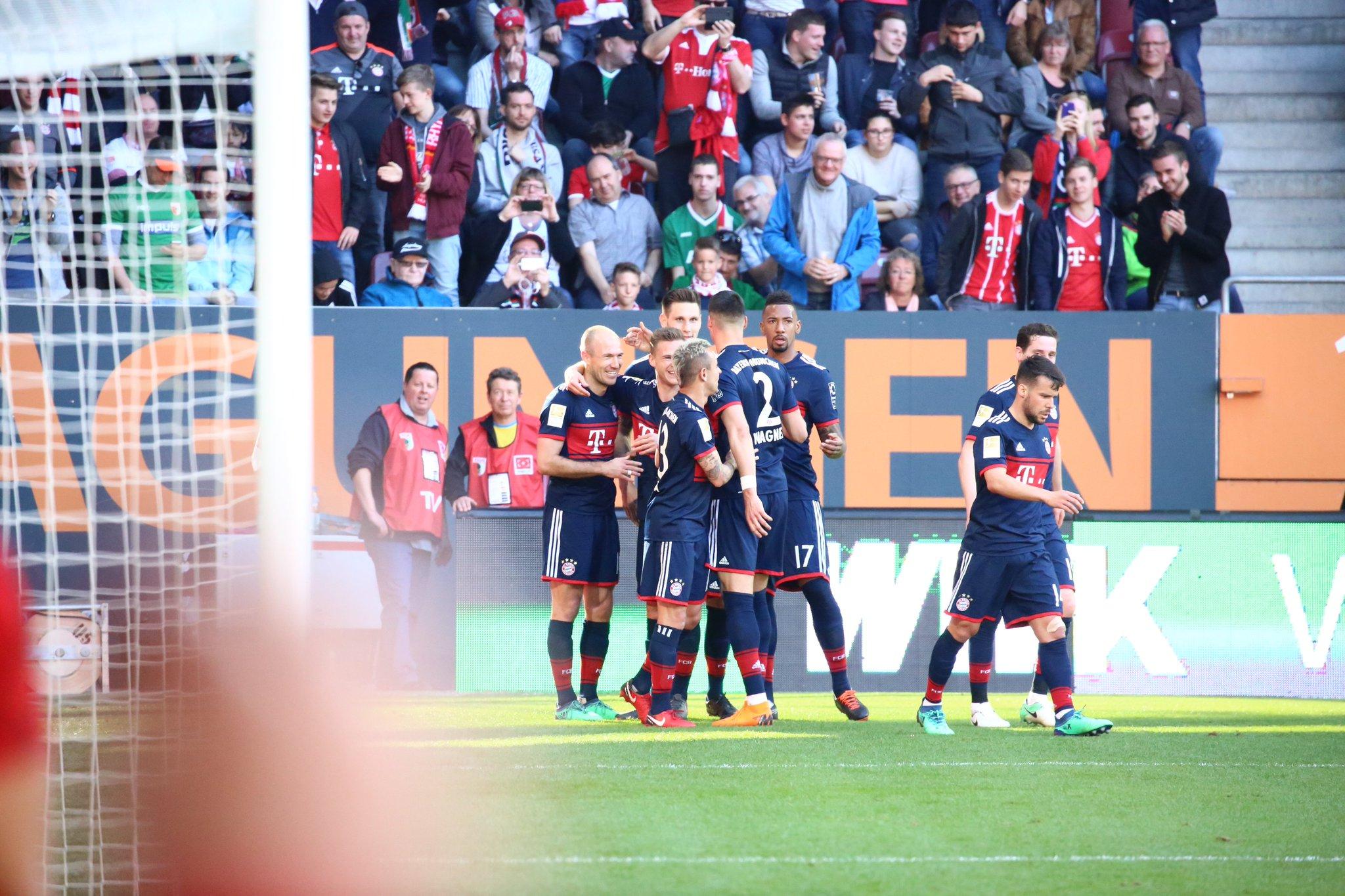FC Augsburg vs Bayern Munich 1-4 Highlights