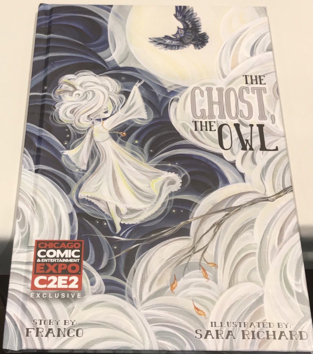 Image result for c2e2 ghost the owl