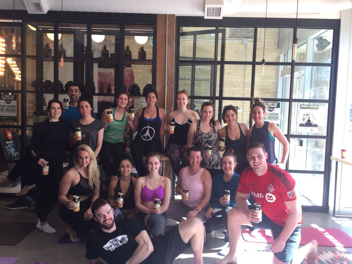 Bigrockbrewery On Twitter Only One More Week Until Brewga At Libertycommons Flow Through A Yoga Class With Pure Yoga Toronto And Finish Off With A Refreshing Beer Limited Spaces Still Available Https T Co Vqafclfodb