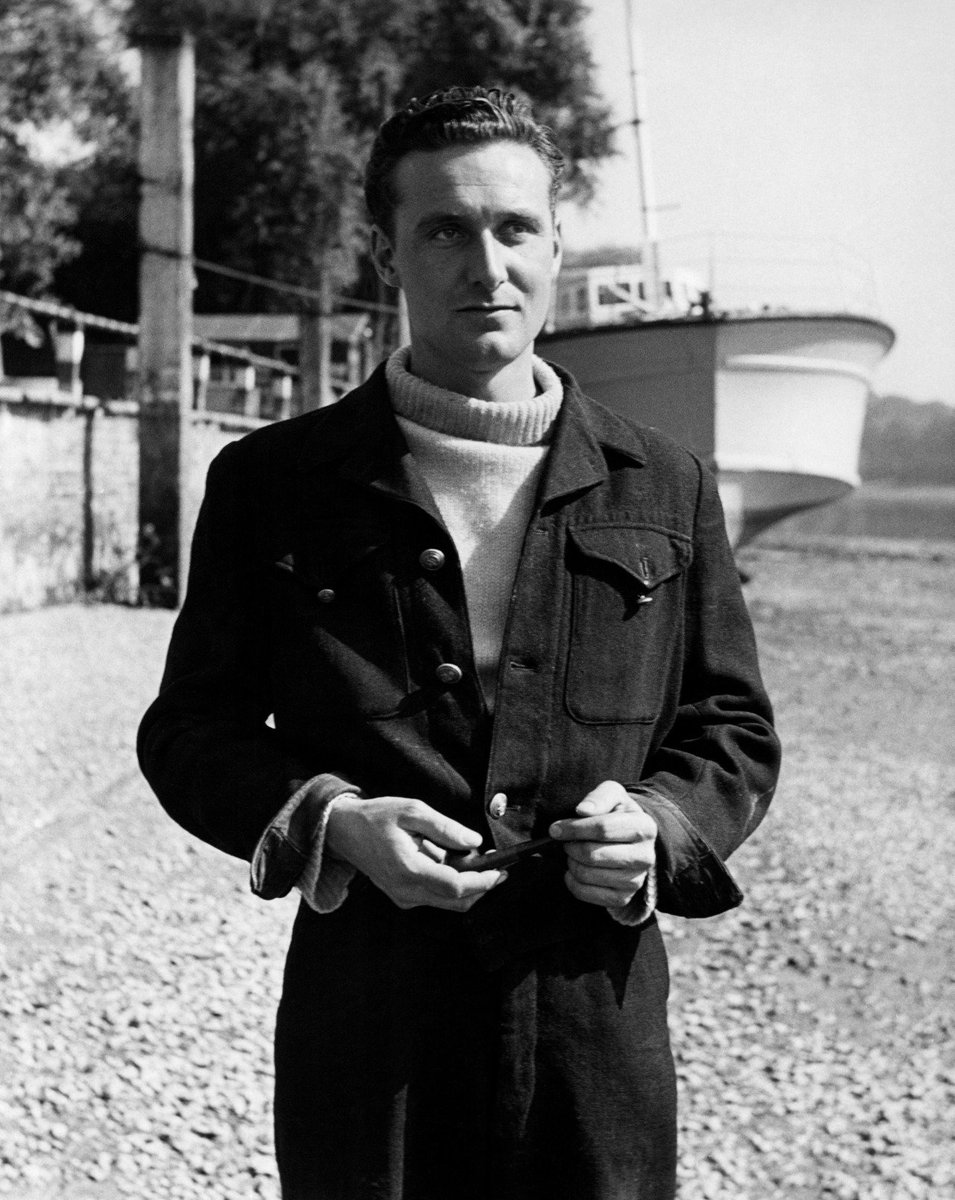 It is unknown what #YoungSteed did in his late 20s &amp; early 30s, but we do know what he looked like in 1950. (Photo of #PatrickMacnee from the film - &#39;The Girl Is Mine&#39; - 1950). #SteedsLife #Steed #JohnSteed #TheAvengers<br>http://pic.twitter.com/amgQKAWtFO