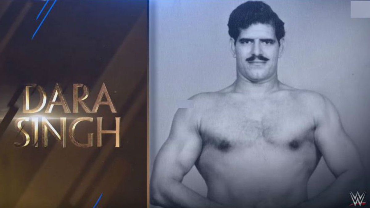 .@WWE honours Dara Singh, inducts legendary wrestler in 2018 #WWEHOF legacy wing. Watch: https://t.co/2ViWUvPKIN
