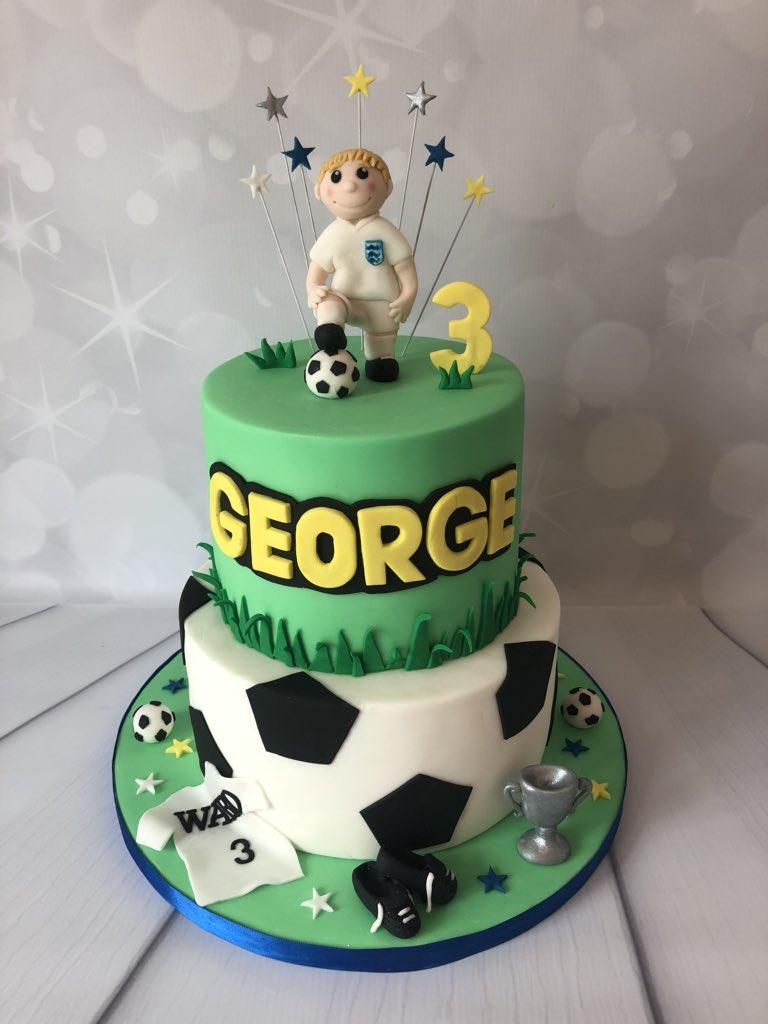Cake Me Away On Twitter Happy Birthday George Footballcake