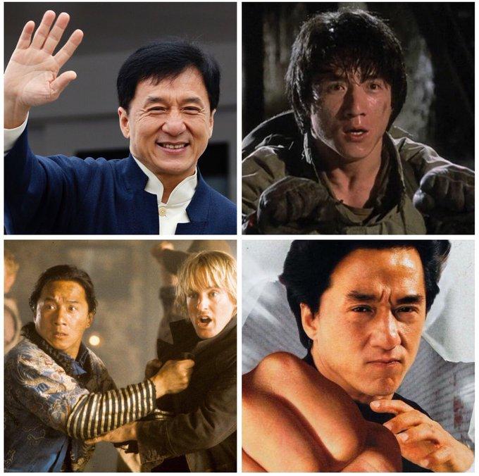 Happy birthday, Jackie Chan! 64 today.