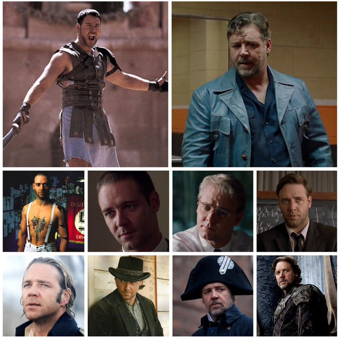 Happy birthday to Russell Crowe (b.1964). Which of his performances is your favourite?