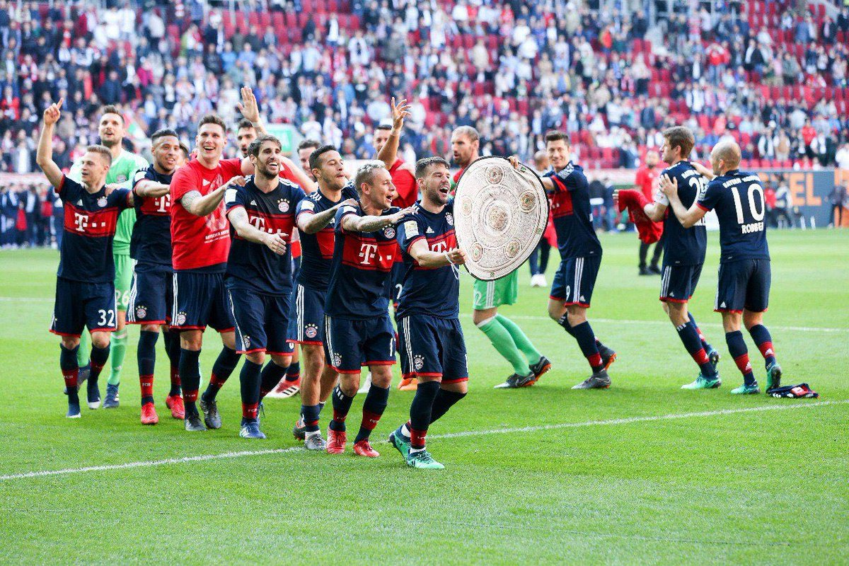 6 MiaSanMeister !! Glückwunsch @FCBayern