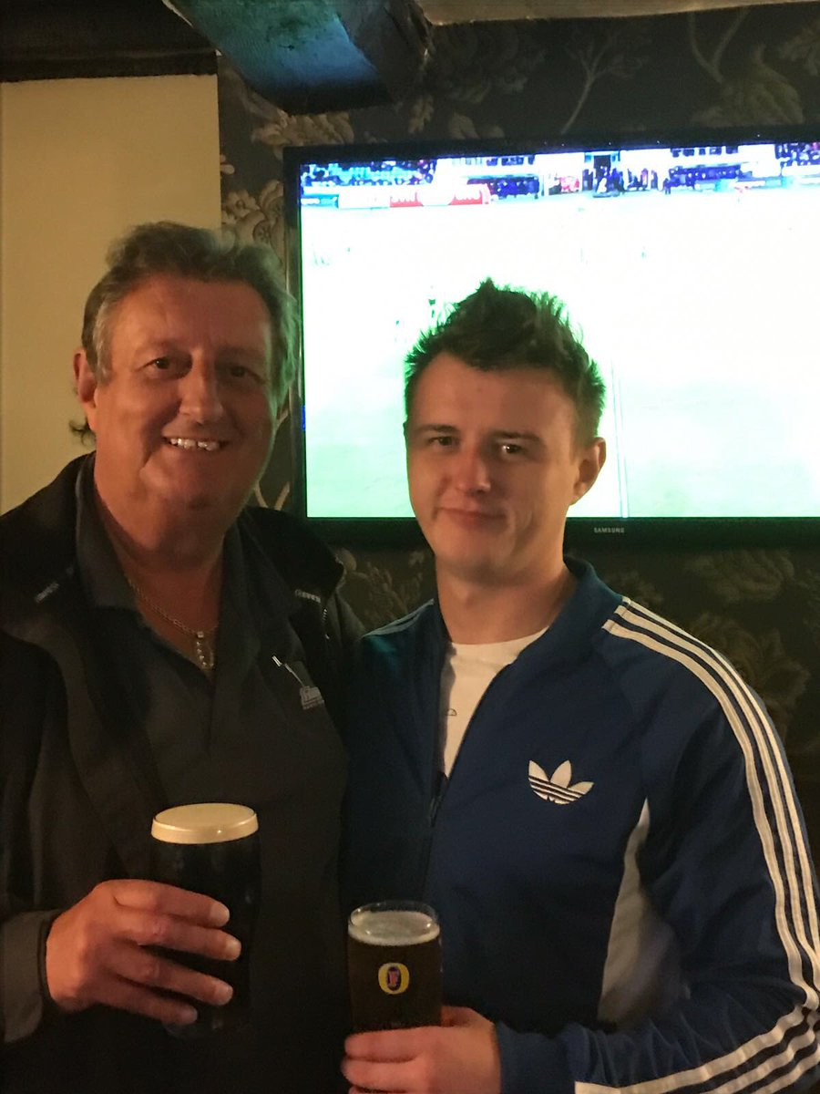 Please enjoy some pictures from The life of The Crafty Cockney.. With son James #RIPEricBristow @RichardWainwri1