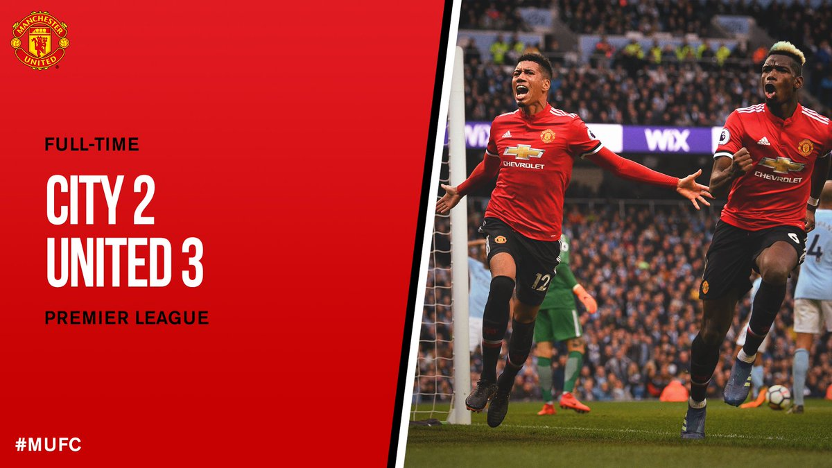 Chấm điểm kết quả Manchester City 2-3 Manchester United
