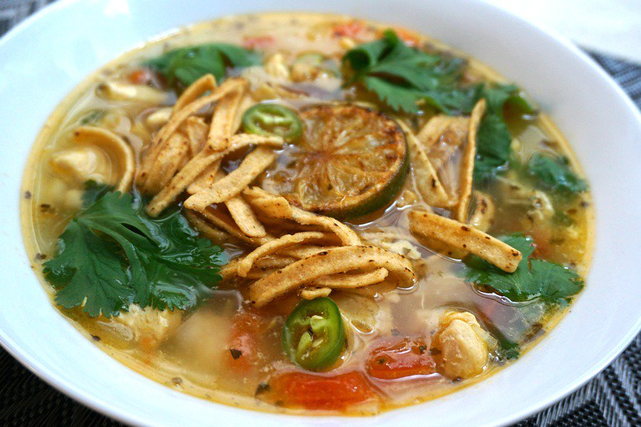 In the Yucatan Peninsula of Mexico, sopa de lima (chicken lime soup) is a delicious dish #mexicanfood #recipe https://t.co/cY9qDglyJP https://t.co/X6kdEv2kWh