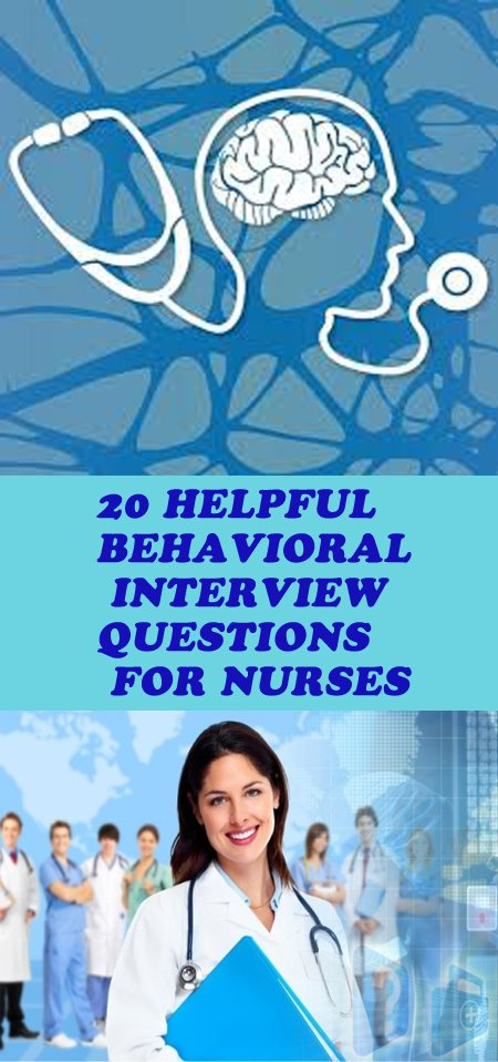 nurse behavioral interview questions and answers