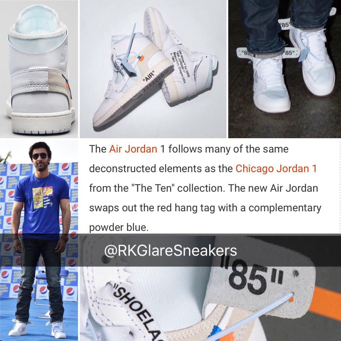 3898f504466705 The sneaker freaker strikes again! Ranbir Kapoor s sneakers   Off White x  Air Jordan  RanbirKapoorpic.twitter.com WTnnyEPYS3