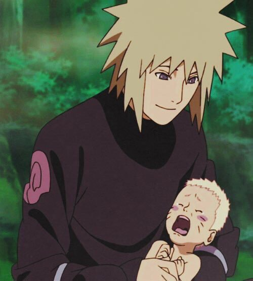Minato: Omg, his first words Naruto: da...d...d Minato: Daddy? Naruto: Dattebayo!!!