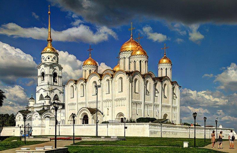 Успенский собор во владимире в картинках