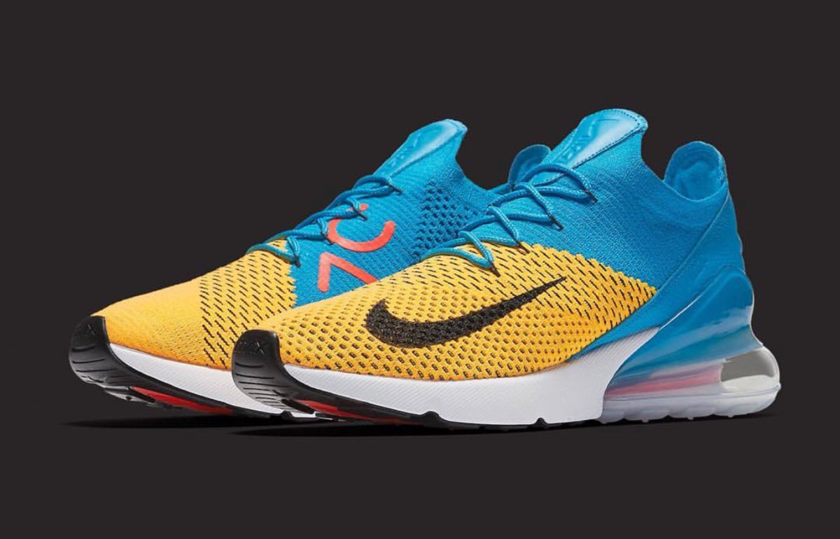 best website 060c8 c2ed7 hitting stores 4 12 nike flyknit air max 270 in select stores and online  weknowgame