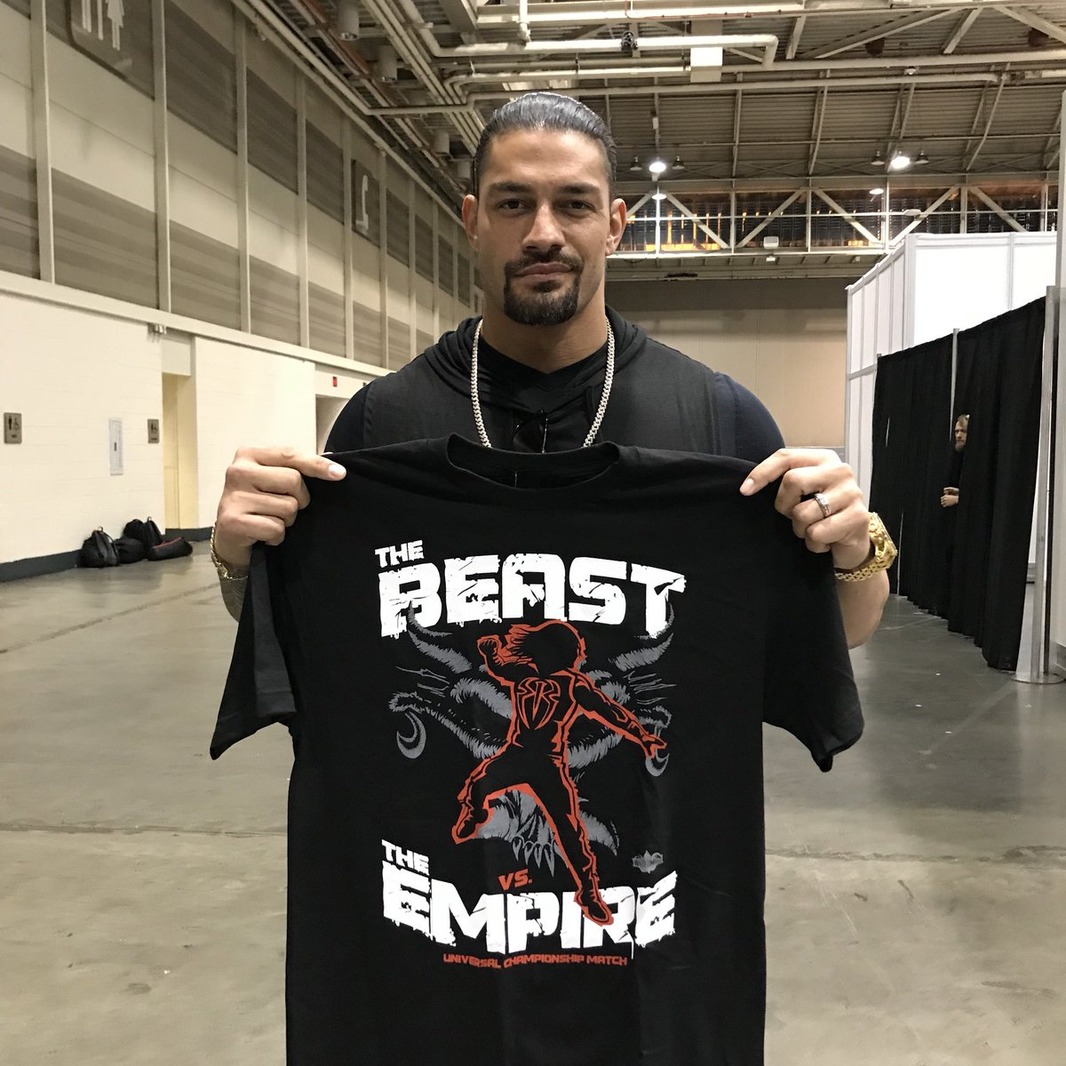 roman reigns on twitter the empire will bring the fight to the