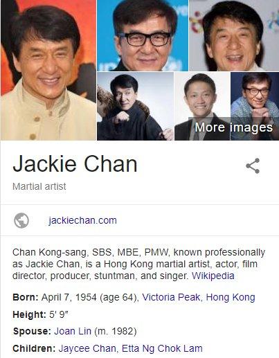 Happy Birthday, Jackie Chan!