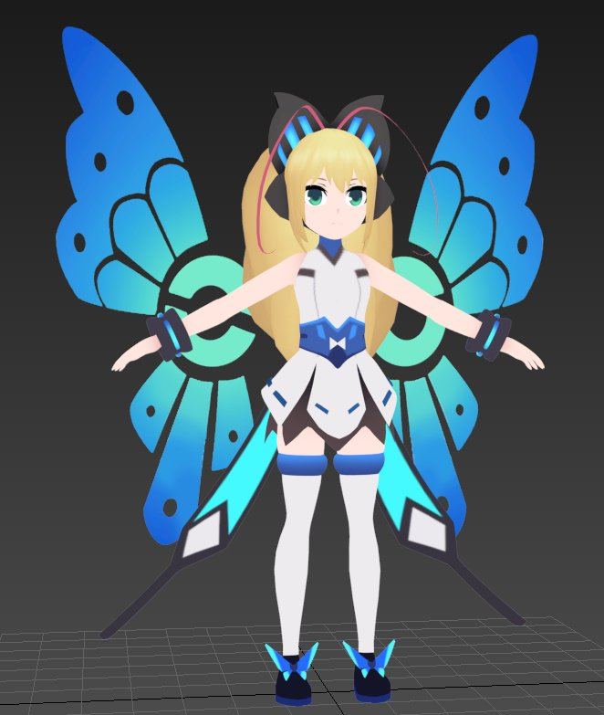 my new avatar on vrchat soon :D Tweet added by Afflictive - Download