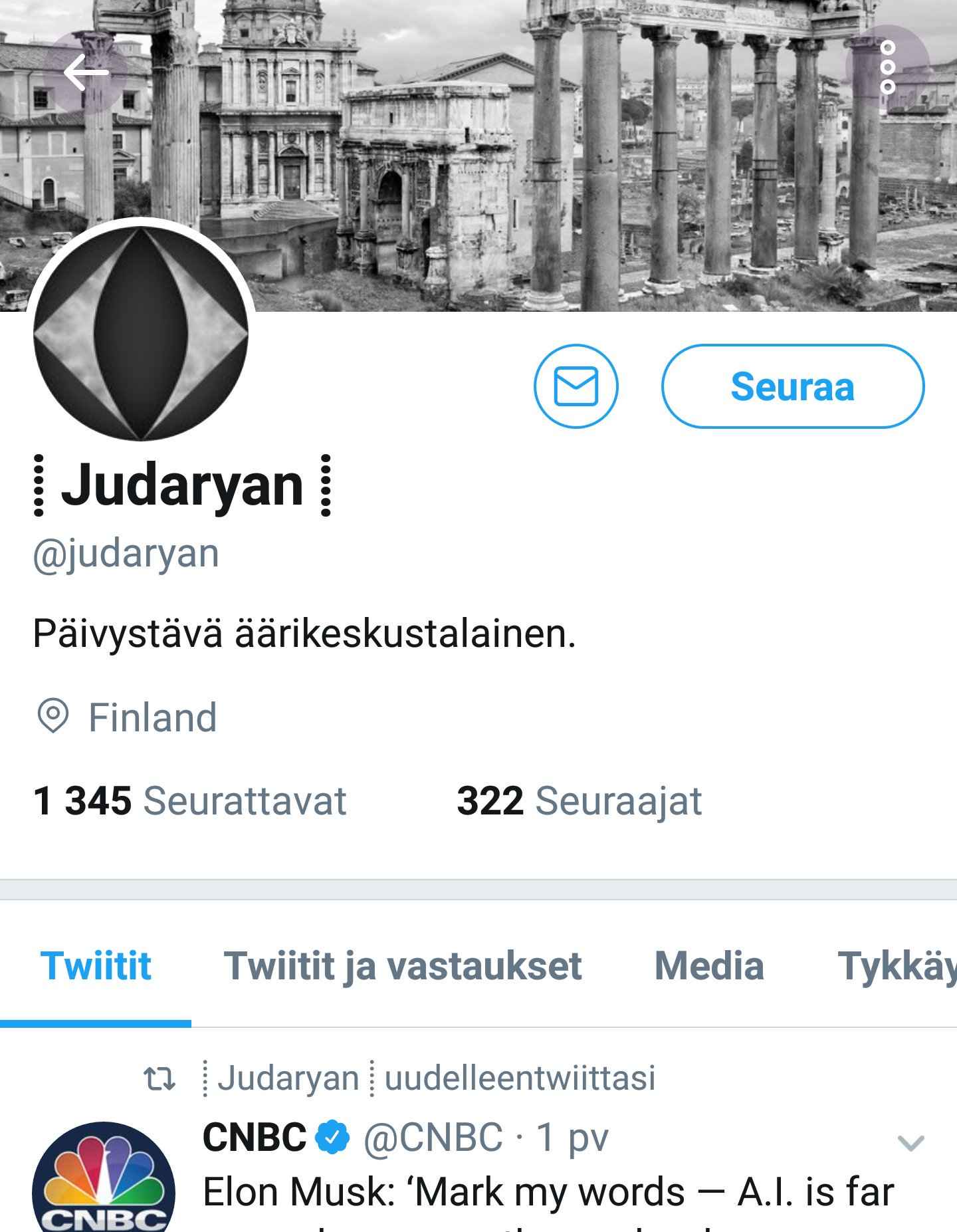 Oula Silvennoinen Twitter