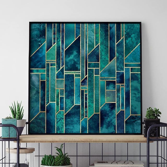 Blue Skies💙 - Get this wall art in the link in the bio. BLUE SKIES by Elisabeth Fredriksson - #artboxone #bespecial https://t.co/Cua8sWnYuh