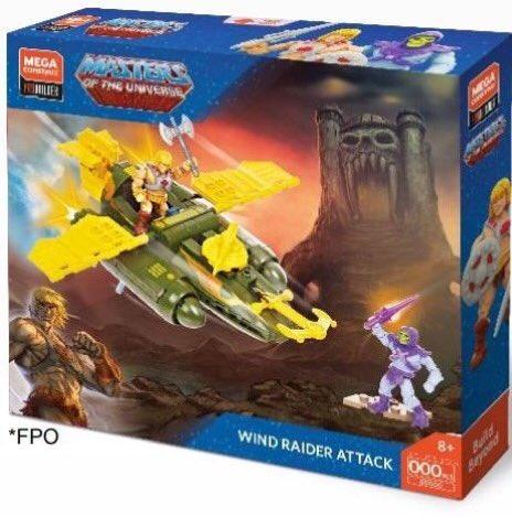 Mega Construx Masters of The Universe Wind Raider Attack.