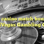 Image for the Tweet beginning: 70% casino match bonus at
