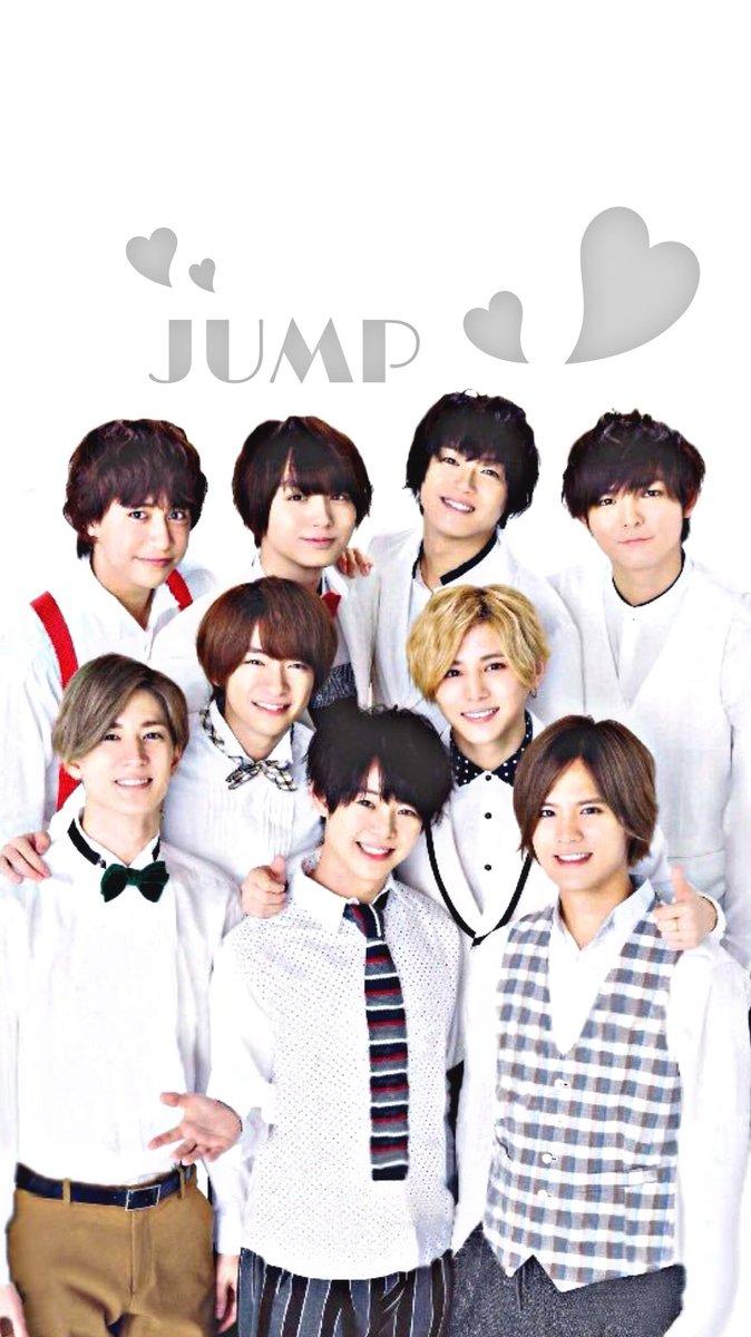 たぴもか On Twitter Hey Say Jump 加工 ロック画 壁紙