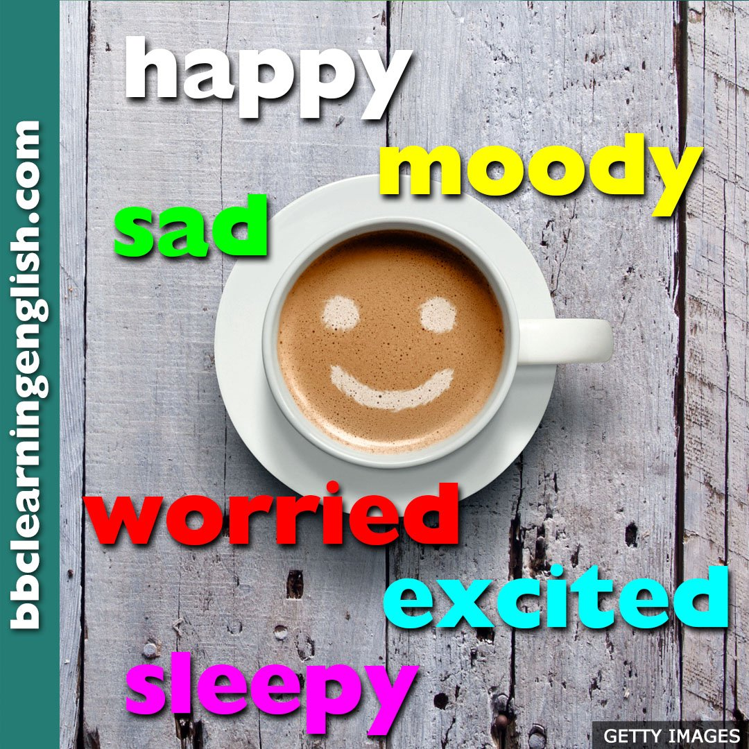 How are you feeling? Why not start the day with some adjectives...  #learnenglish #vocabulary