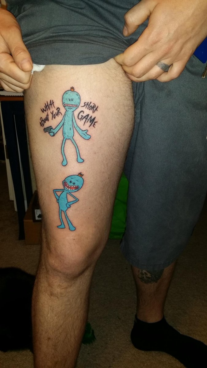 kellykhamp on twitter mr meeseeks look at him by joshua drake