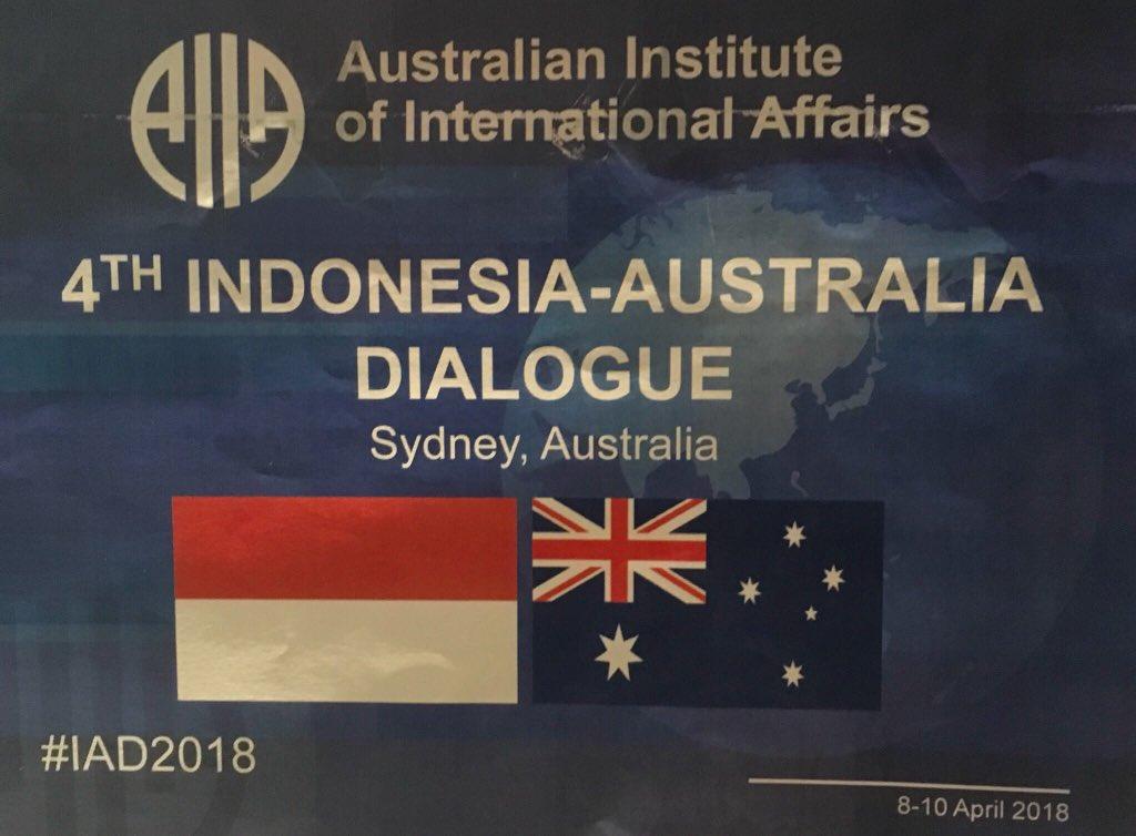 Great to be welcoming @TimMarbun @pjvermonte @na_dirs @WidjajantoAndi @madeandi and many more to #IAD2018: an important #Indonesia #Australia second-track dialogue @AIIANational @dfat @Kemlu_RI