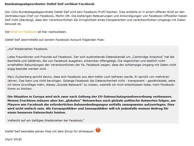Martin Fuchs On Twitter Dear Mr Mark Zuckerberg Nimm Das