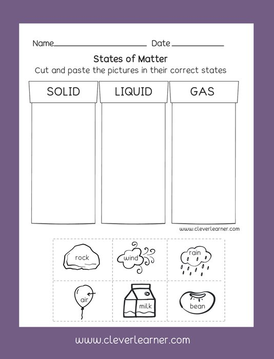 Clever Learner On Twitter Fun Science Activity Worksheets For