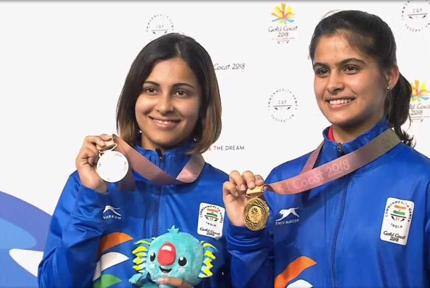 India's 'Super Sunday' in CWG 2018, five medals won with two gold